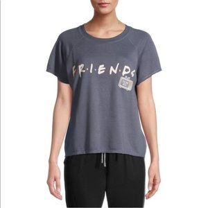 Warner Bros Friends Short Sleeve Pajama Top - L